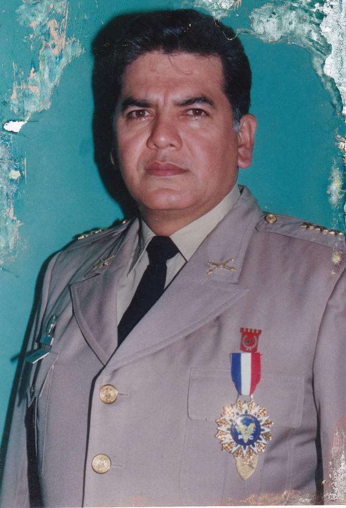 Imagen de archivo del coronel Rivas Najarro