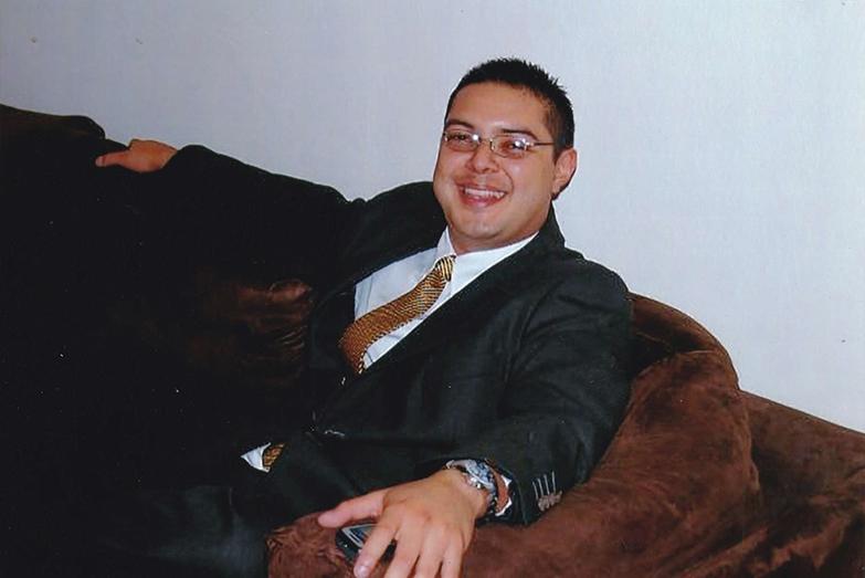 Carlos René Guillermo Rivas Molina, hijo del coronel Rivas Najarro, asesinado el pasado 23 de abril.