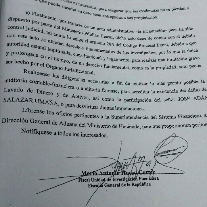Después de la investigación por evasión, la FGR ordenó el inicio de una investigación por lavado contra JASU.
