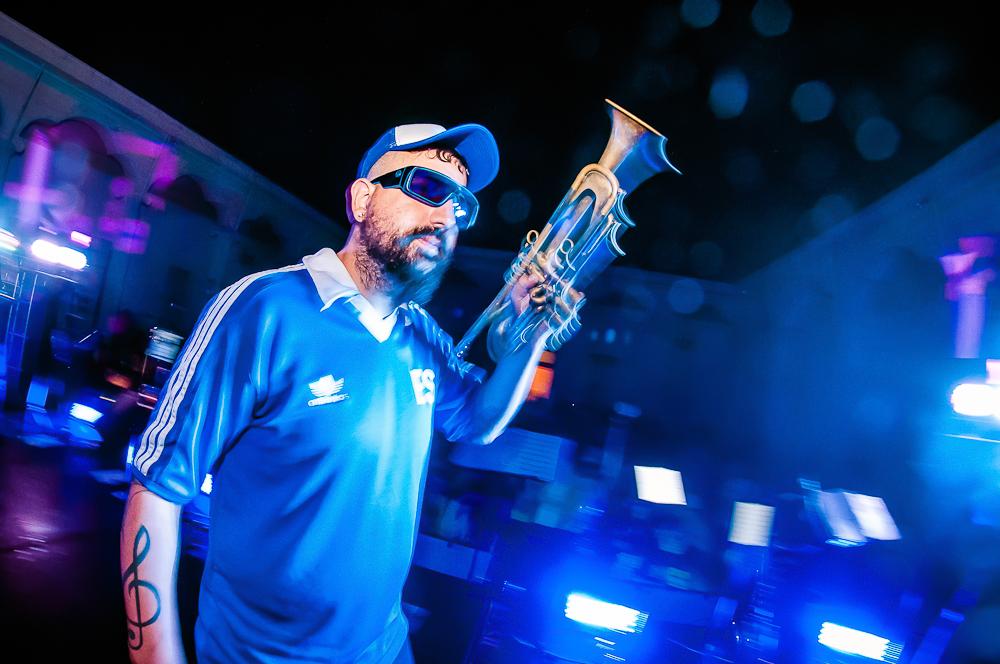 Instrumentos de viento al frente: El Club del Lobo en El Salvador
