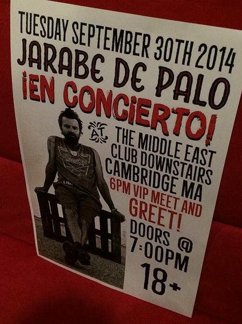 Más recuerdos de la gira con Jarabedepalo.