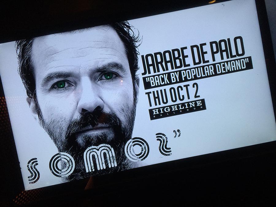 """La gira actual de Jarabedepalo (y que vendrá a El Salvador) promociona el disco """"Somos""""."""