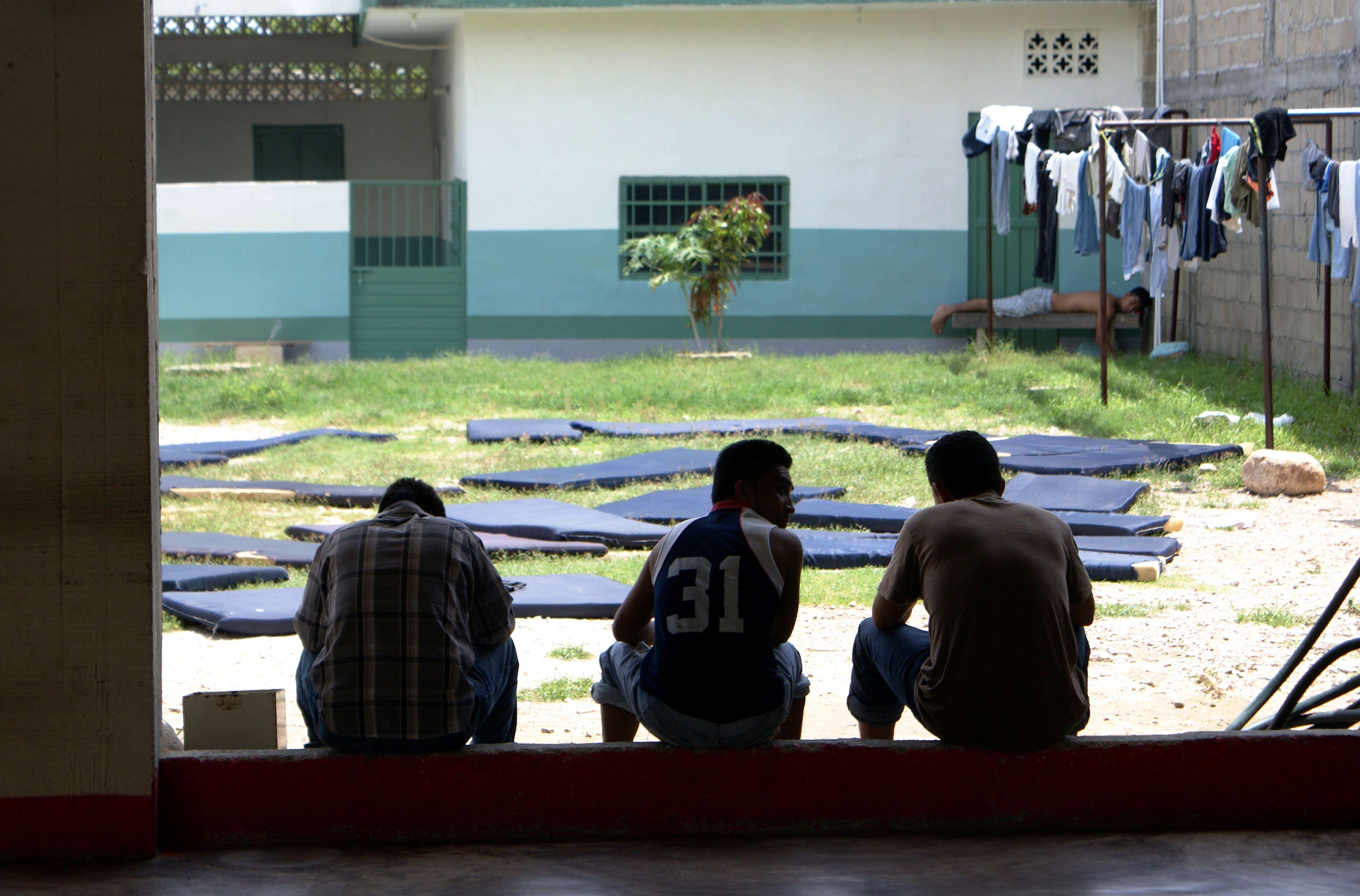 5. Migrantes en albergue de Arriaga