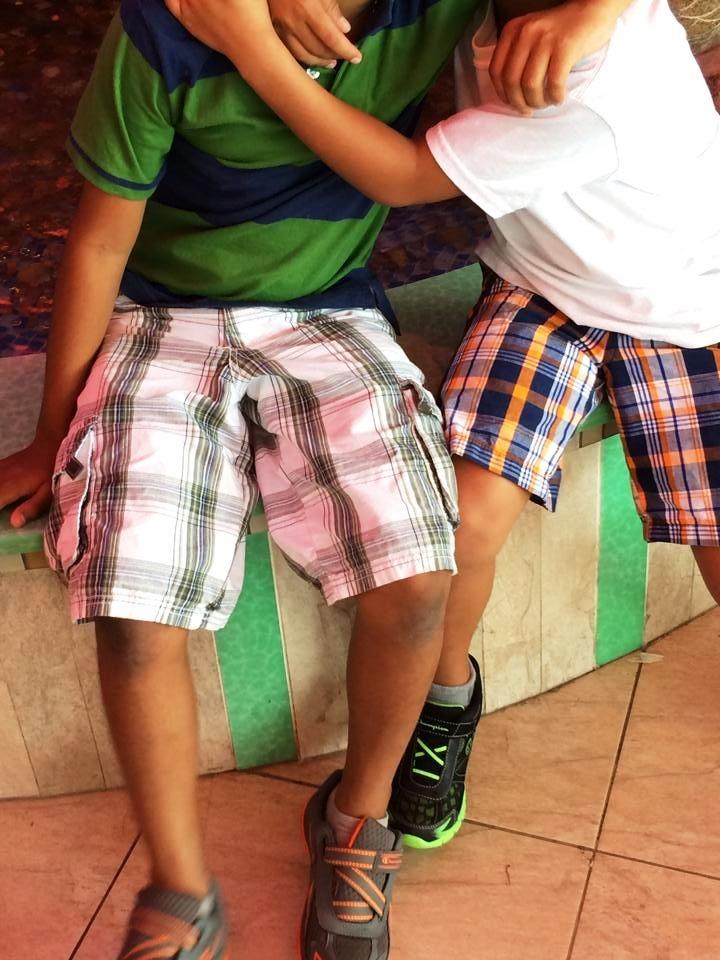 9. Niños en albergue en EEUU