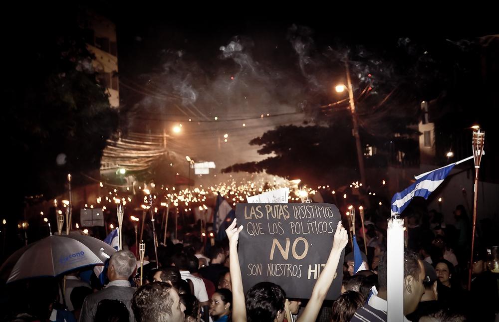 Honduras y la batalla civil contra la corrupción