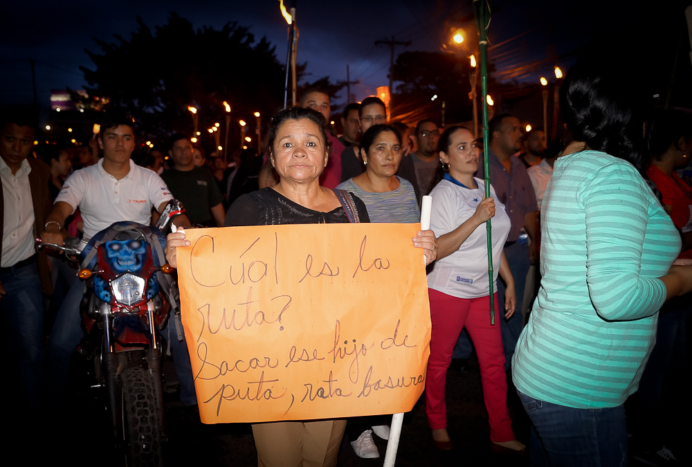 Honduras marcha