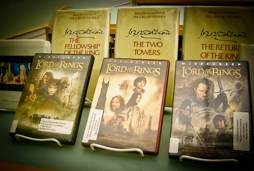 """La trilogía de """"El señor de los anillos"""" inspiró a que el cineasta Peter Jackson hiciera una exitosa y multimillonaria adaptación al cine. Foto de Flickr con licencia Creative Commons."""