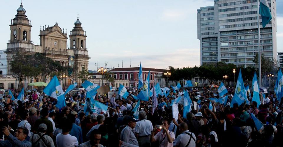 manifestacion_en_parque_central