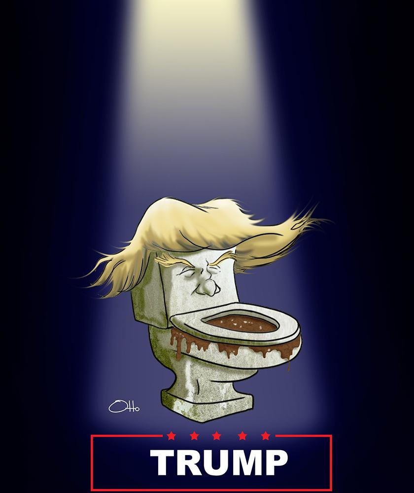 Donald Trump (según Otto Meza)