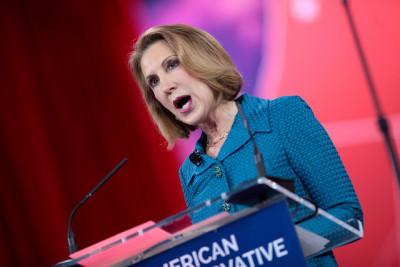 Carly Fiorina, la nueva estrella de la primaria republicana. Foto tomada de Flickr, con licencia de Creative Commons.