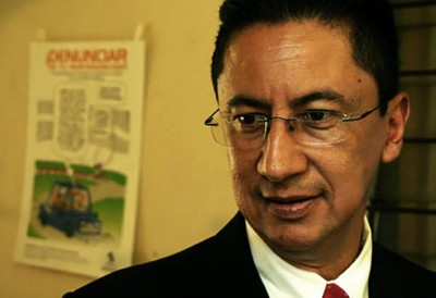 Ricardo Menesses, ex director de la PNC. Foto de Frederick Meza.