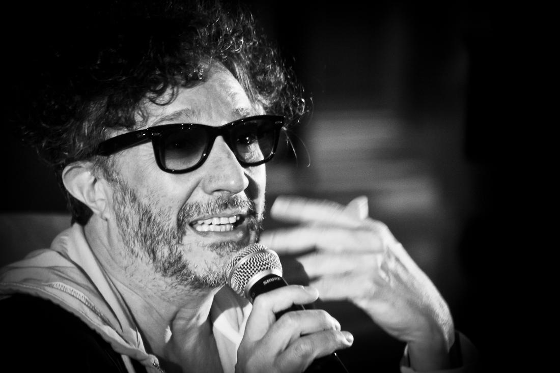 """Fito Páez: """"Tengo como amantes a las palabras y al cine, pero mi mujer es la música"""""""