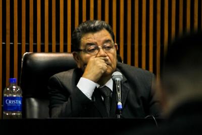 Juez Séptimo de Instrucción, Miguel Ángel García. Foto de Frederick Díaz.