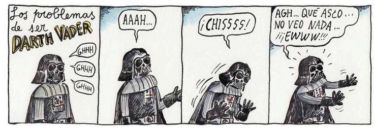 Darth Vader problemas
