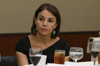 Adriana Beltrán, de WOLA. Foto tomada de Flickr, con licencia Creative Commons.