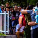 Fotografías generales del proceso de llegada de los deportados salvadoreños al Aeropuerto Internacional de El Salvador.