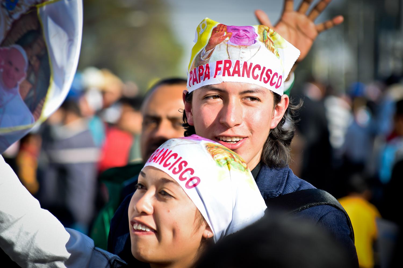La visita del papa Francisco generó mucha alegría en buena parte de la comunicad católica mexicana. Foto/Orus Villacorta.