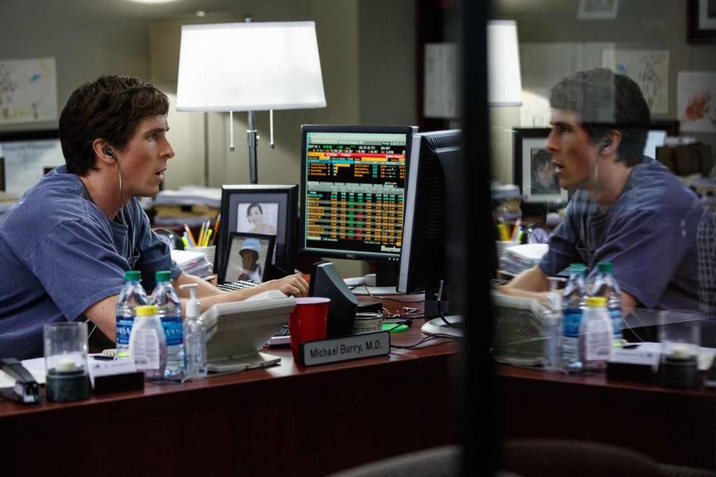 """Christian Bale en """"The Big Short"""", fotos de Paramount Pictures y Regency Pictures."""