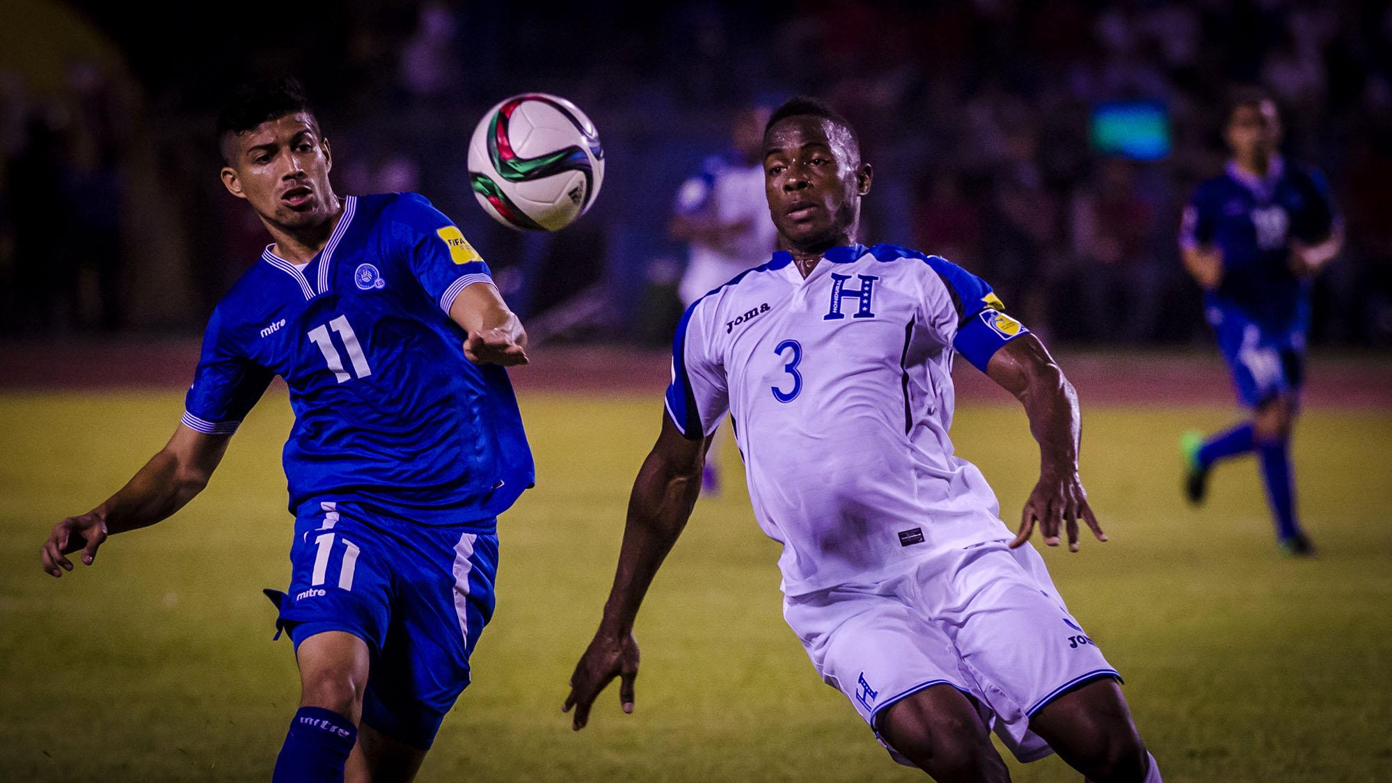 Imágenes de la victoria hondureña (2-0) sobre El Salvador