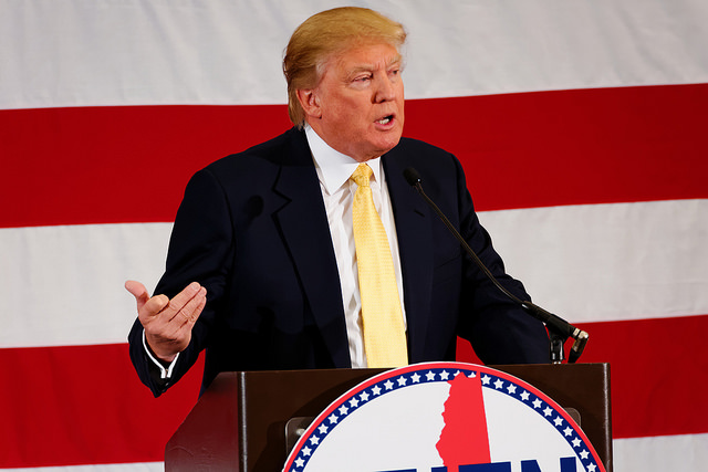 «Trump es una figura repulsiva con buenos instintos políticos»
