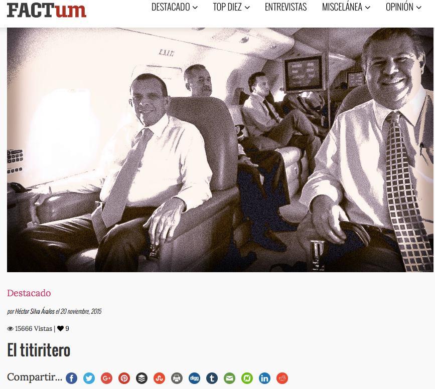 """El expresidente de Honduras Porfirio Lobo con Enrique Rais (derecha). La foto sirvió para ilustrar el reportaje titulado """"El titiritero""""."""