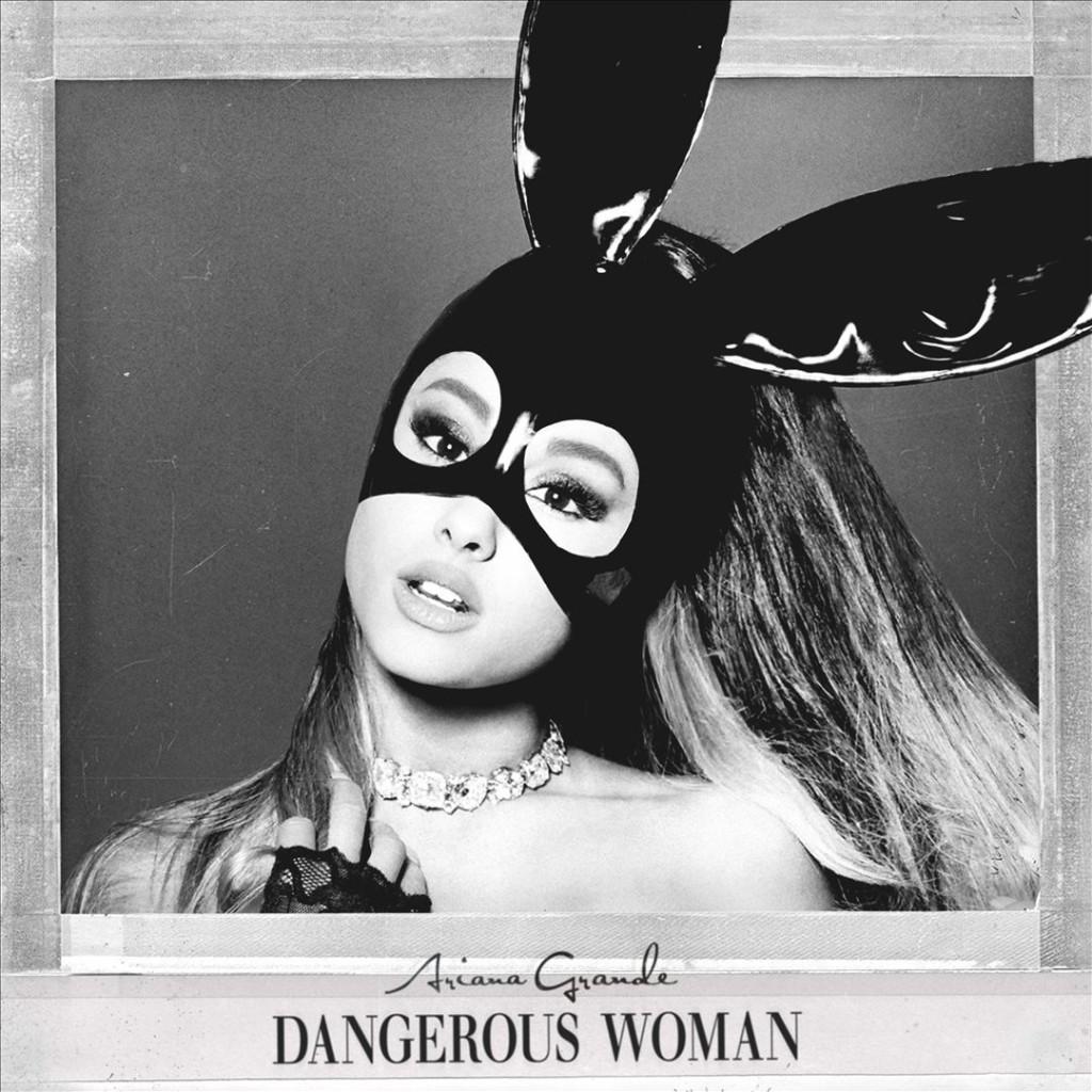 """Esta es la portada de """"Dangerous woman"""", el nuevo disco de Ariana Grande."""