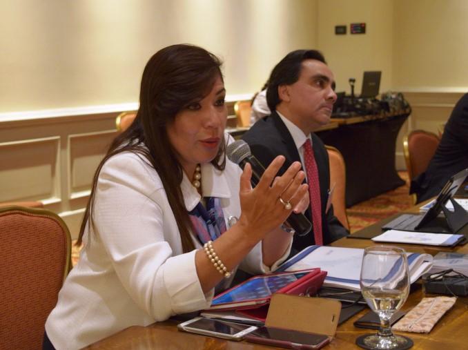 Imagen de Merlin Barrera, Viceministra de Comercio e Industria del Ministerio de Economía de El Salvador, tomada de la página web oficial del MINEC.