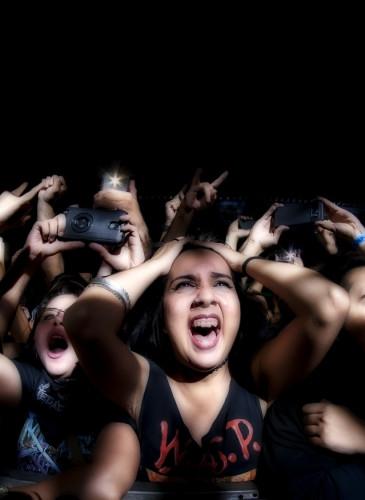 El Salvador Megadeth Concert