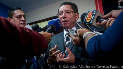 Douglas Meléndez, fiscal general de El Salvador. Foto de Salvador Meléndez.