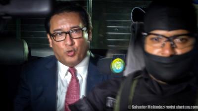 Imágenes de las detenciones del ex fiscal Martínez y Enrique Rais