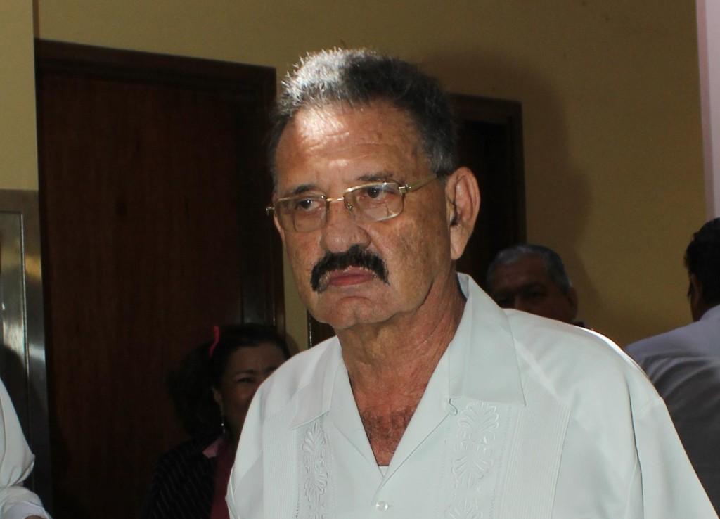El diputado sandinista Jacinto Juárez. Foto: Carlos Malespin.