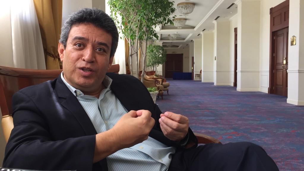 Alexander Segovia, presidente de INCIDE. Foto: César Castro Fagoaga.