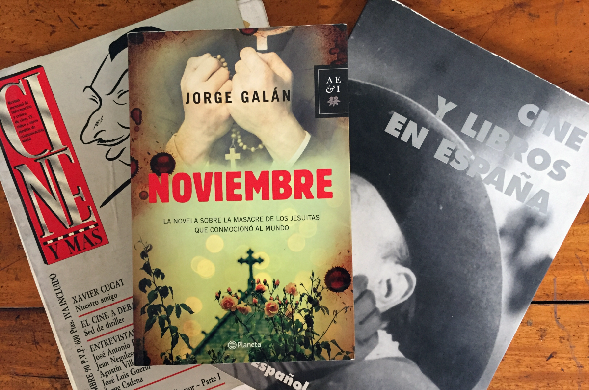 """La novela """"Noviembre"""" llegará al cine con Imanol Uribe"""