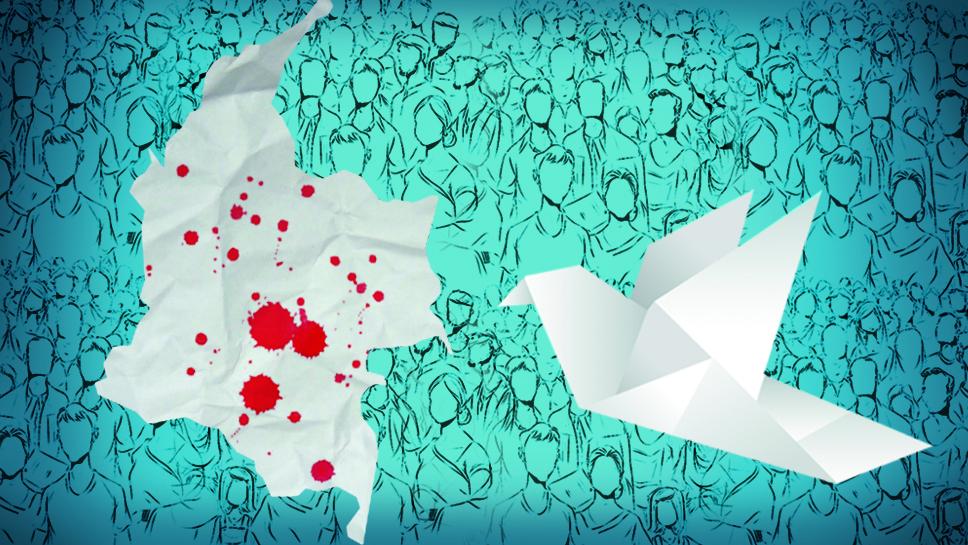 La paz en papel: de El Salvador a Colombia