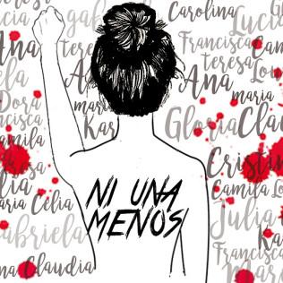 """El movimiento """"Ni una menos"""" encontró eco en El Salvador"""