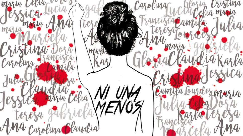 El movimiento «Ni una menos» encontró eco en El Salvador