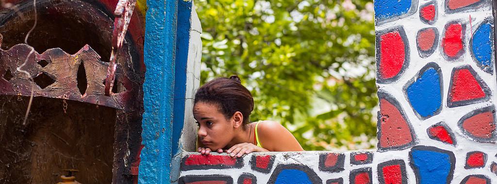 Callejón de Hamels. La Habana, 2015. Foto de Michael Schoeneis. Tomada de Flickr con licencia Creative Commons.
