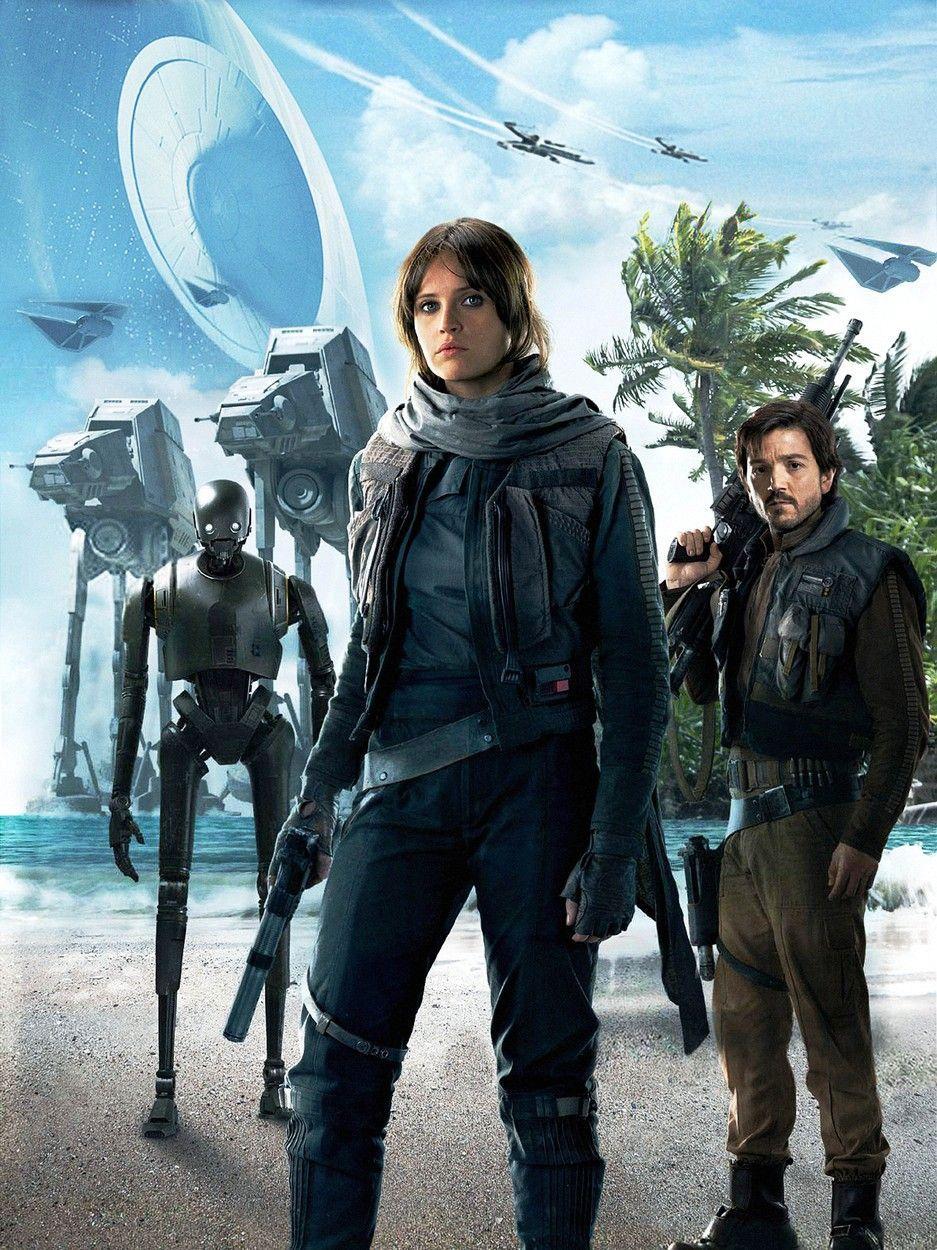 Felicity Jones encarna el papel de Jyn Erso, la protagonista principal de 'Rogue One: a Star Wars Story'.