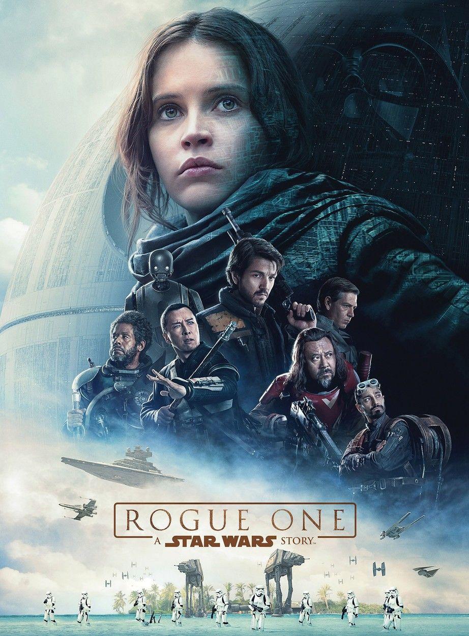 """Este es el afiche oficial de """"Rogue One: A Star Wars Story""""."""