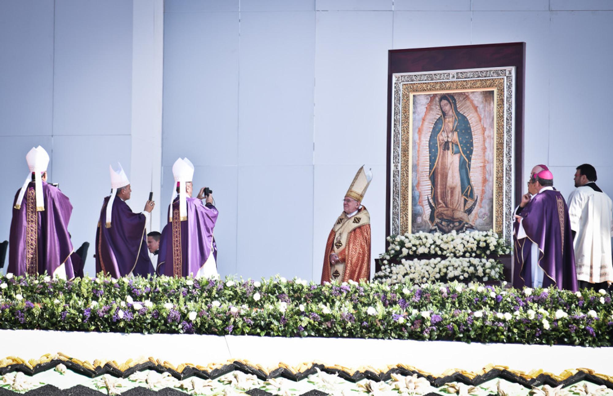 La cobertura periodística de la visita del Papa Francisco a México, estuvo a cargo de Orus Villacorta Aguilar, co-editor de FACTUM. Foto FACTUM/Orus Villacorta Aguilar
