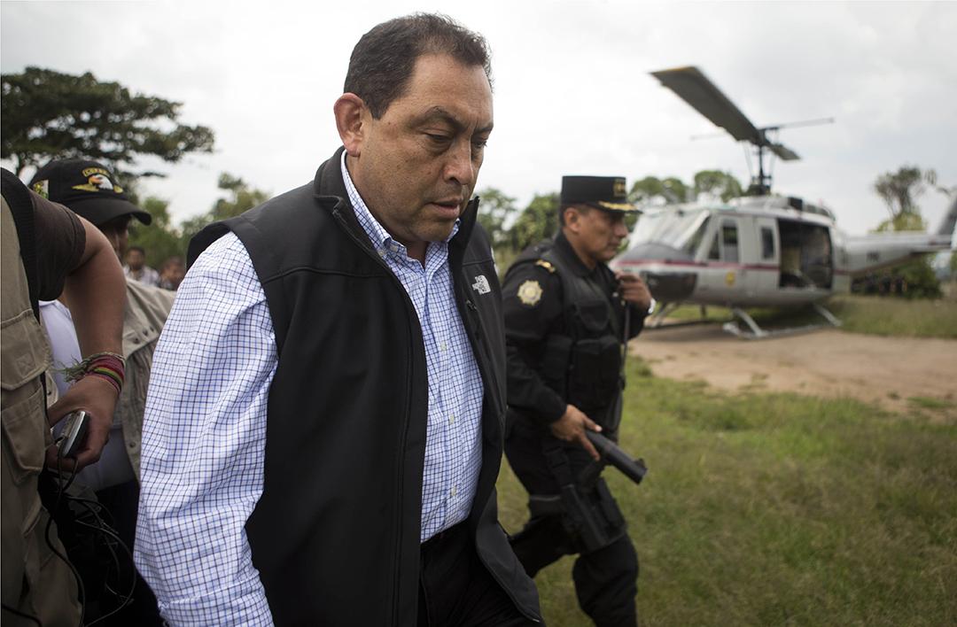 El Estado mafioso de Guatemala y el caso de Mauricio López Bonilla