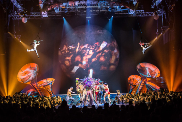 """""""De Música Ligera"""". """"Primavera Cero"""". Foto de Rodrigo Alonso. Prensa Soda Stereo SEP7IMO DIA by Cirque du Soleil."""