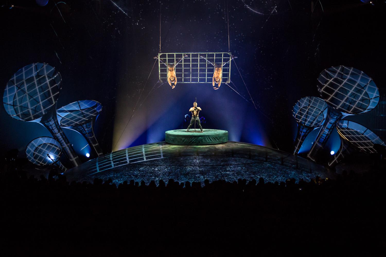 """·En la ciudad de la furia"""". Foto de Rodrigo Alonso. Prensa Soda Stereo SEP7IMO DIA by Cirque du Soleil."""