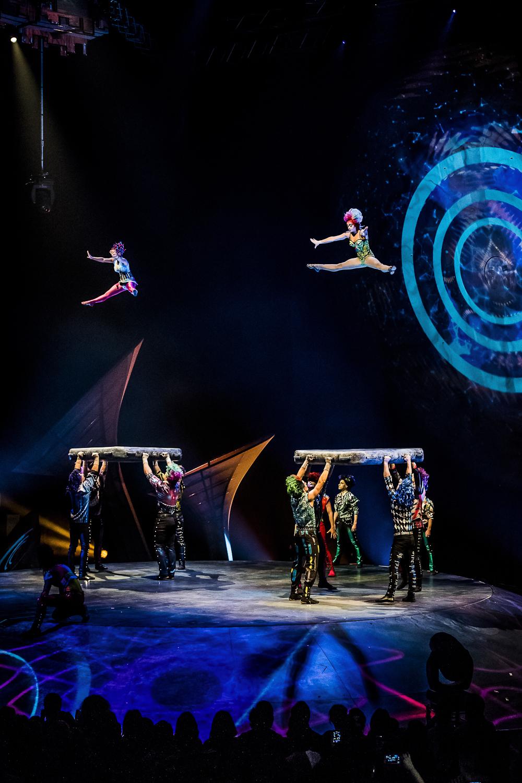 """""""De música ligera"""". Foto de Nancy Martínez. Prensa Soda Stereo SEP7IMO DIA by Cirque du Soleil."""