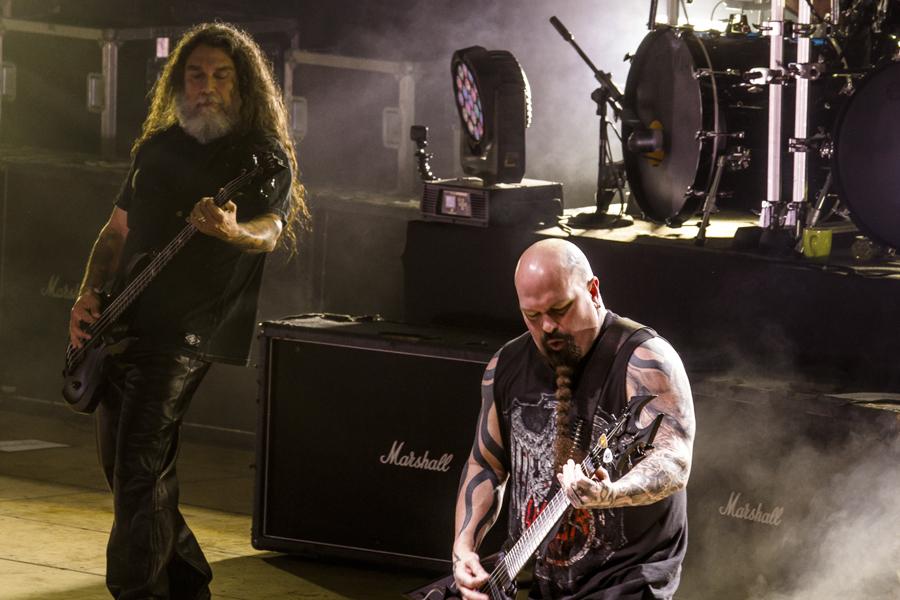 La noche en la que Slayer exhibió su prestigio por el CA-4