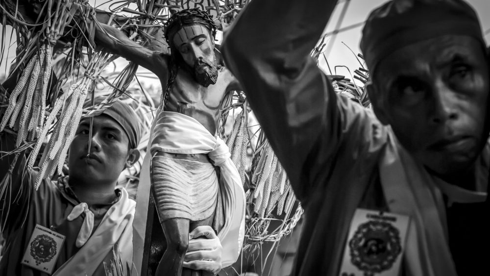 Los Cristos de Izalco en la Semana Mayor