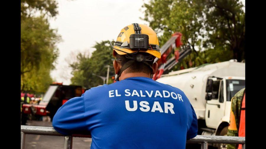 Así fue el trabajo de los rescatistas salvadoreños en México