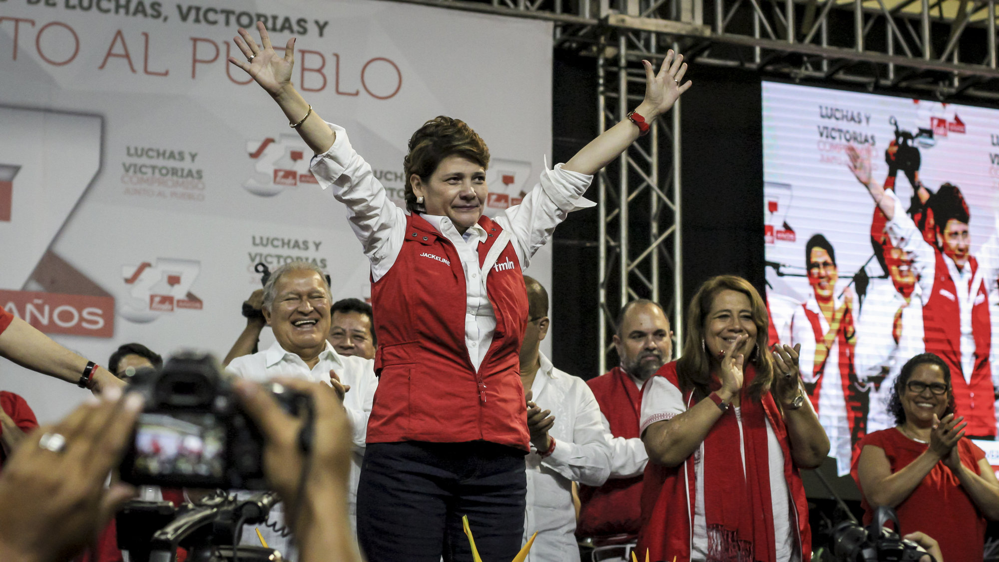 Jackeline Rivera, la carta del FMLN para olvidar a Nayib Bukele