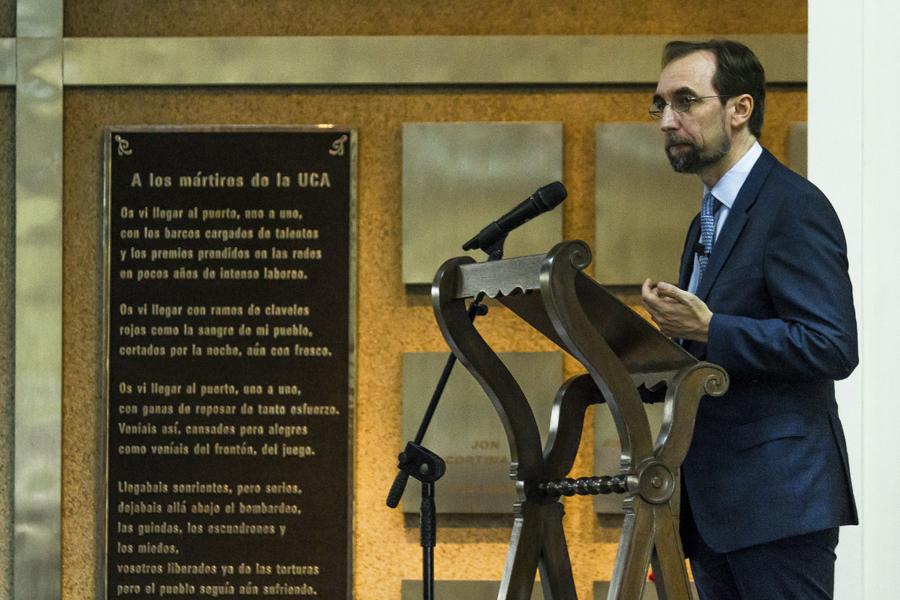 Alto comisionado de la ONU pide justicia por las víctimas de la UCA