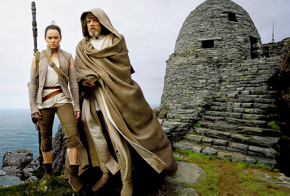 El estira y encoge de la estructura argumental de Star Wars